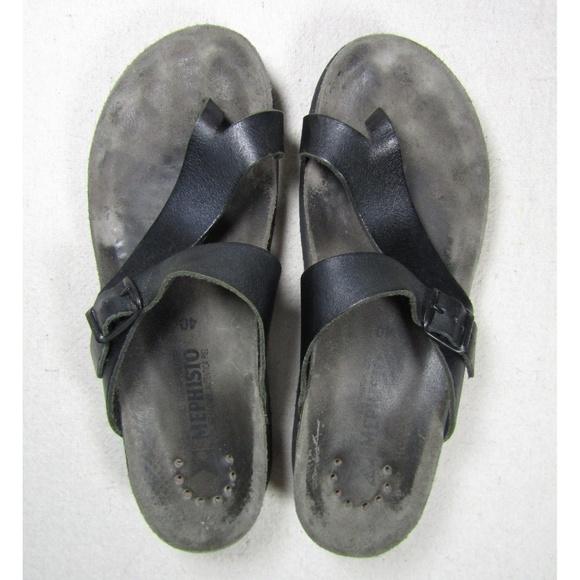 6e1093198405 Mephisto Helen black leather comfort sandals 40. M 5ac0148c3b1608df5484c4d2